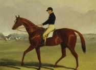 'Preserve' with Flatman Up at Newmarket
